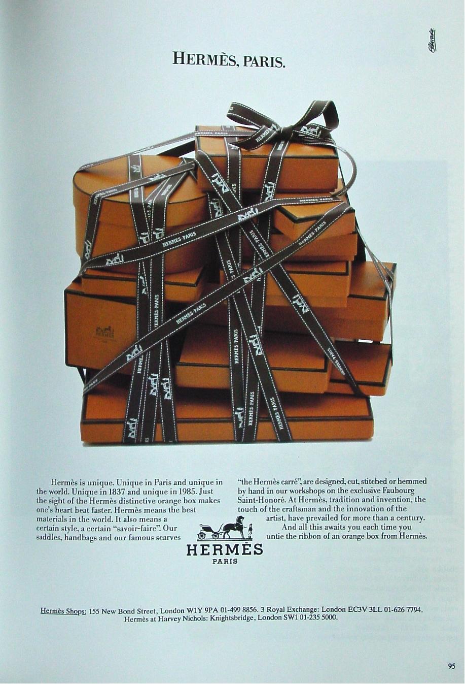 Metafore equine nella pubblicità Hermès | Società, ATLANTE
