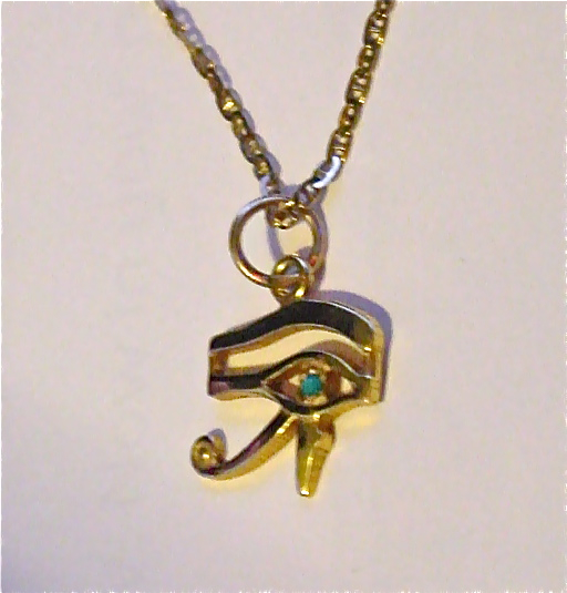 Cairo time eye of horus pendant gracious goods blog a mozeypictures Image collections