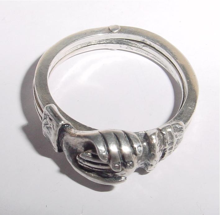 Fede Gimmel Ring For Sale