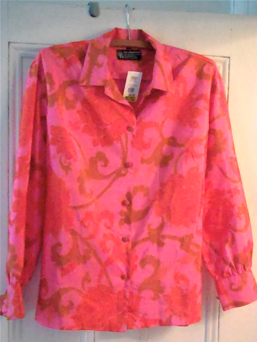 Thai one on vintage silk blouse gracious good 39 s blog for Thai silk jim thompson