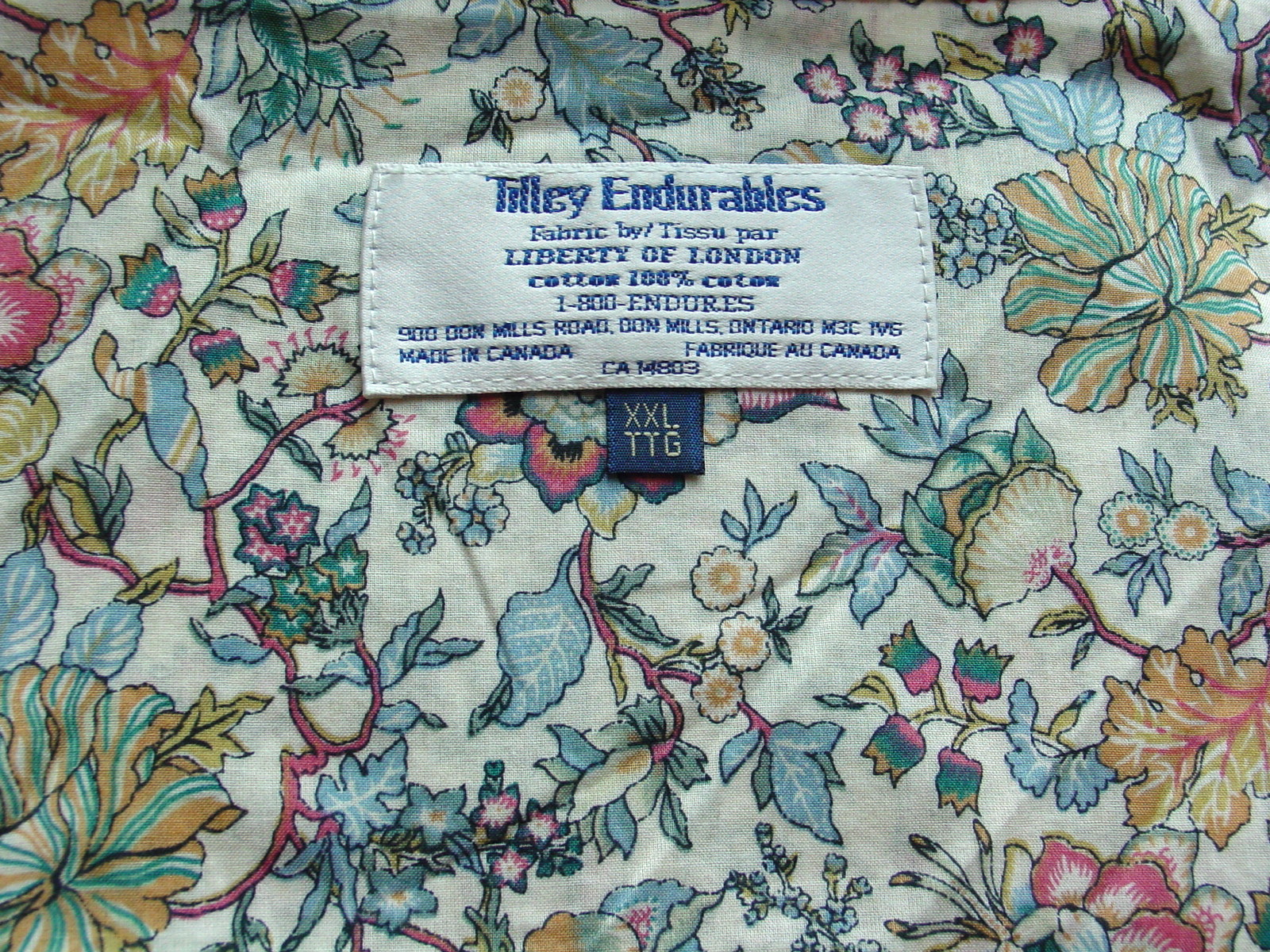 Blouse Made From Liberty