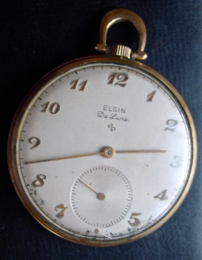 1940s Elgin De Luxe Pocketwatch