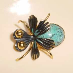 1960s Bug Brooch