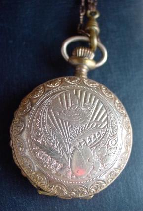 Hunter Pocket Watch Case N. Robert Movement