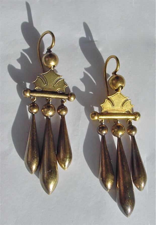 Victorian Girandole Earrings