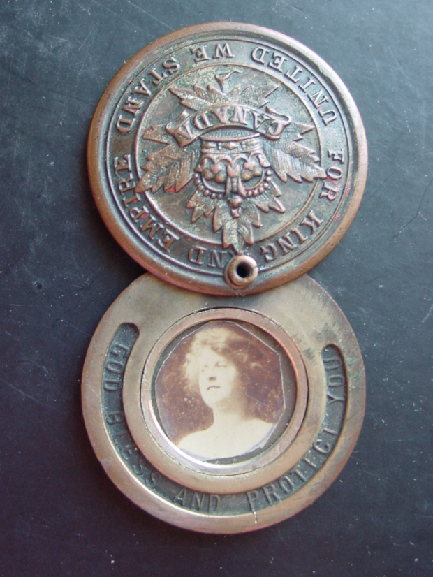 World War I For King and Empire Picture Locket