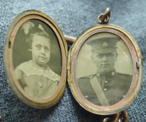 WWI Picture Locket