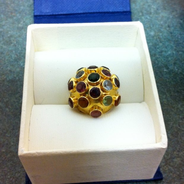 H Stern multi gemstone  ring