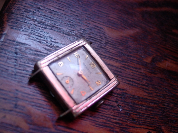 Square case Benrus Watch
