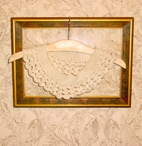 Hand crocheted collar