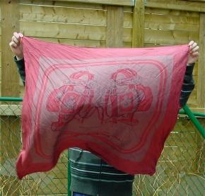Hermes Brides de Gala Dip Dye silk Scarf