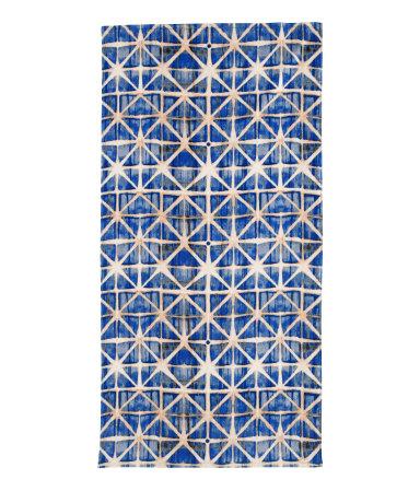 H&M Fashion Against AIDS 2012 batik towel