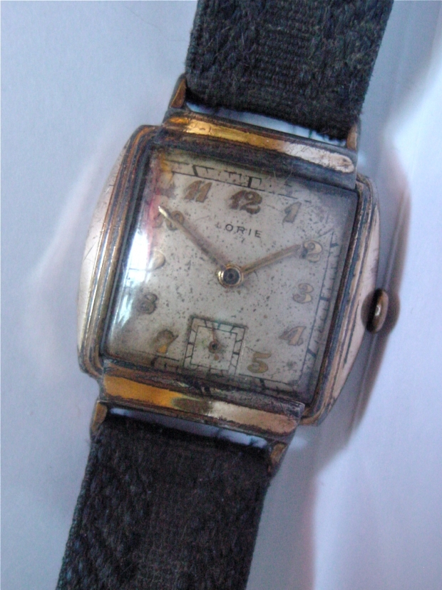 1940s Lorie sub seconds watch