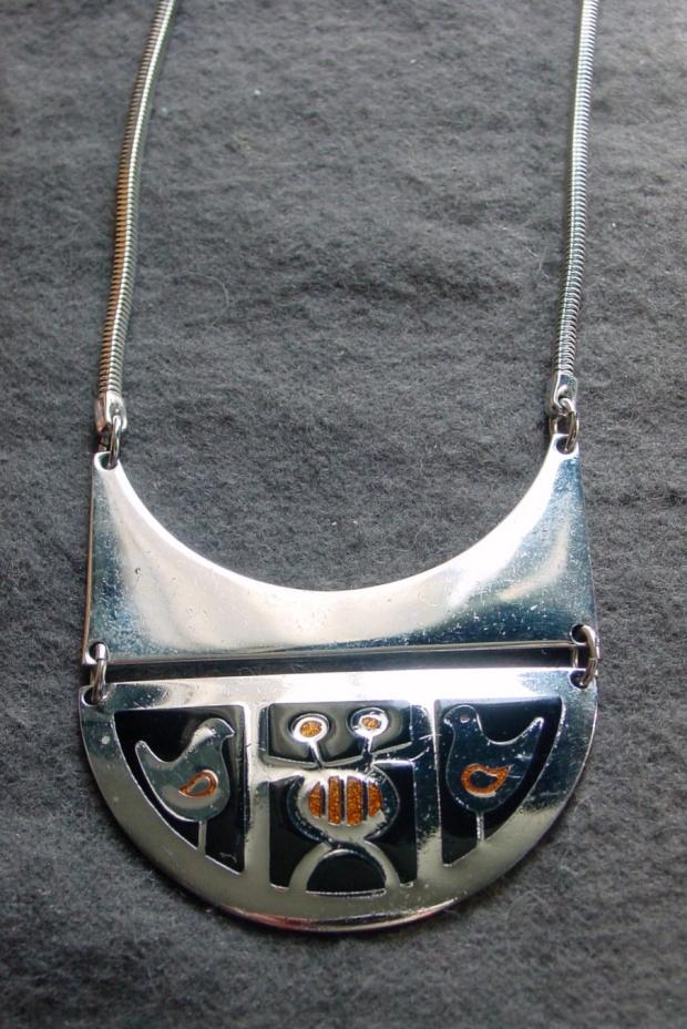 de Passille-Sylvestre enamel necklace