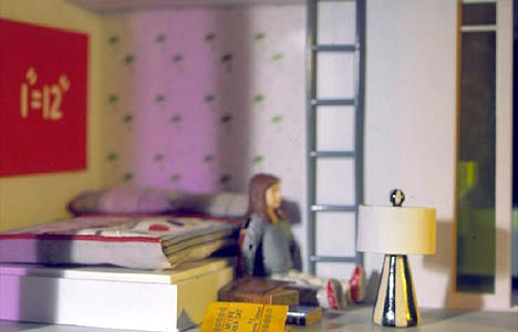 Laurie Simmons photo of Bozart Kaleidescope House