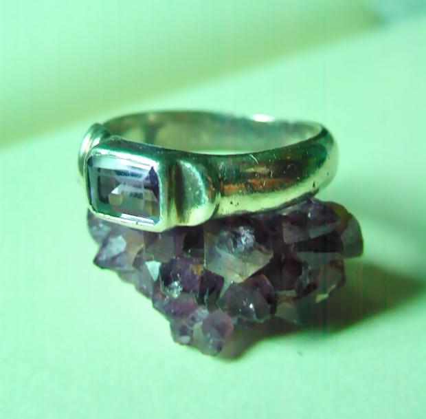 925 Amethyst Ring