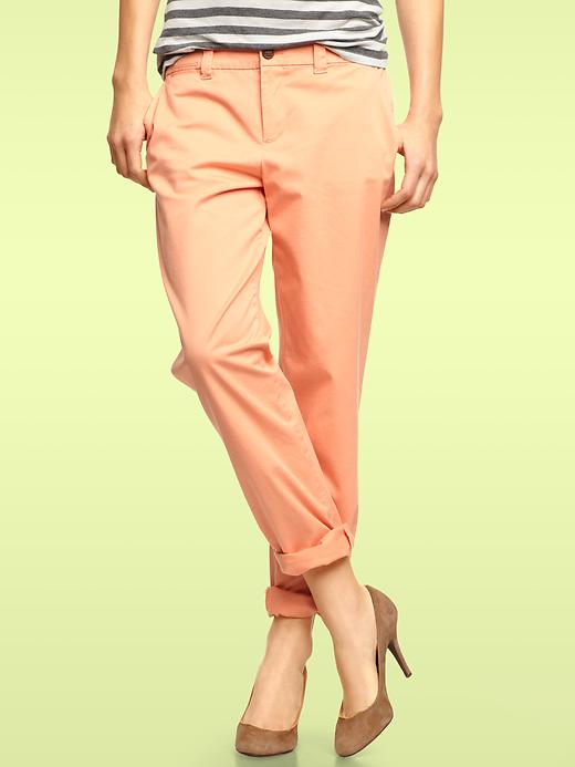 Peach coloured Gap Khakis