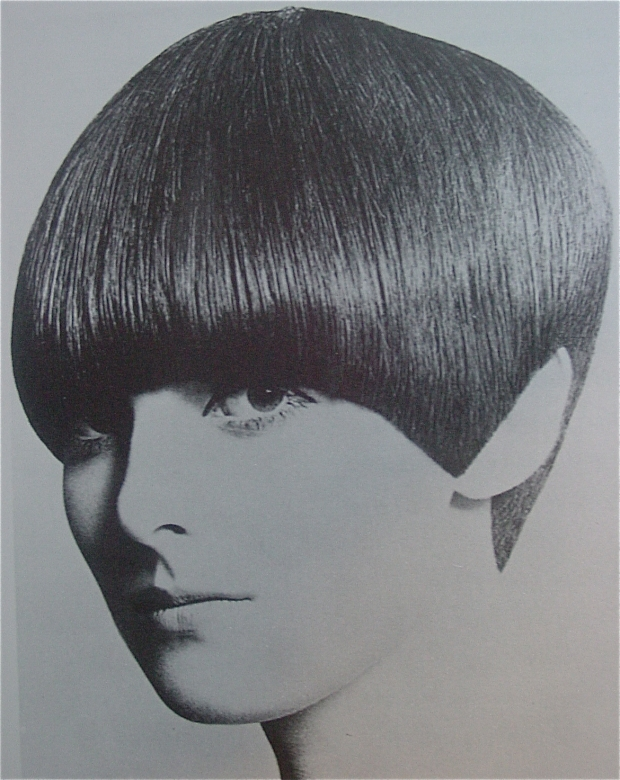 Grace Coddington Sassoon 5 point haircut