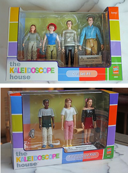 Bozart Kaleidescope Action Figures