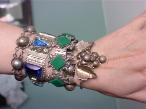 Collection of Mexican Silver Bracelets