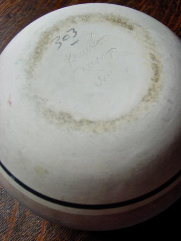Marie Begay Kanuho Navajo signature