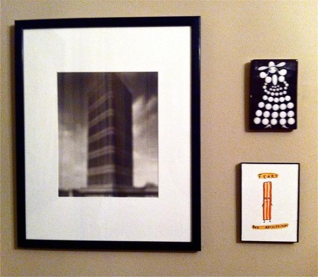 Hiroshi Sugimoto photo Xenia Taler tile Dan Goodsell watercolour