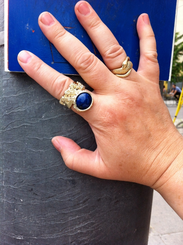 YSL arty ring knock off
