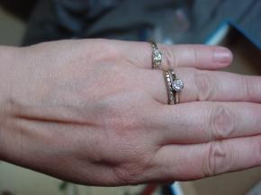 Birks White Gold Engagement Ring