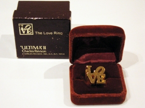Ultima II Robert Indiana Love Ring