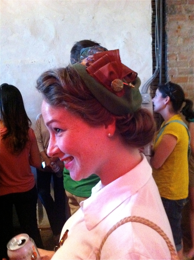 Etsy Meet up La Krause Milliner