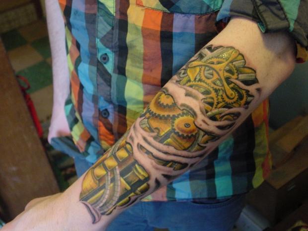 Justin's tattoo