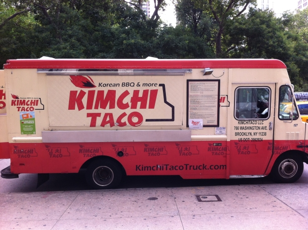 Kimchi Taco truck, New York