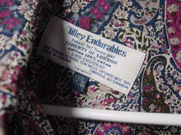 Tilley Endurables Liberty Fabric Blouse