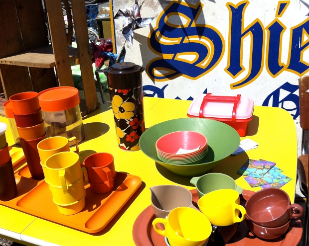 Collection of Melmac tableware