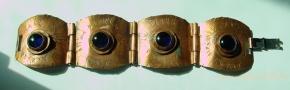 rafael canada copper panel bracelet