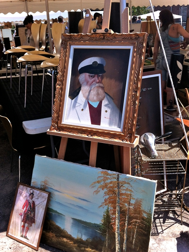 Painting of a Sea Captain