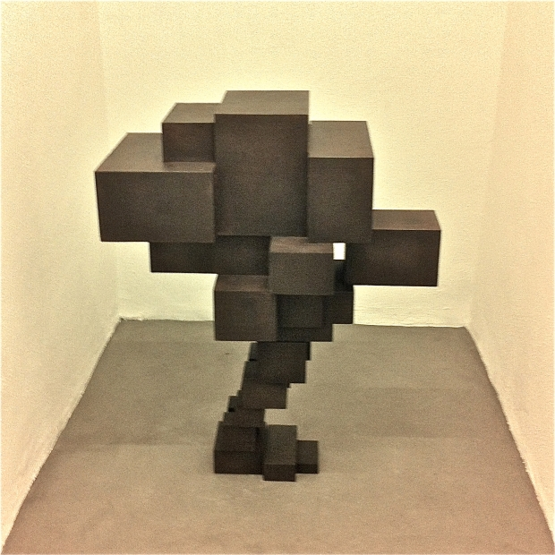 "INstallation view, Antony Gormley ""Subject"""