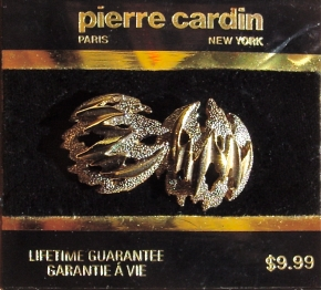 NOS brutalist Pierre Cardin Earrings