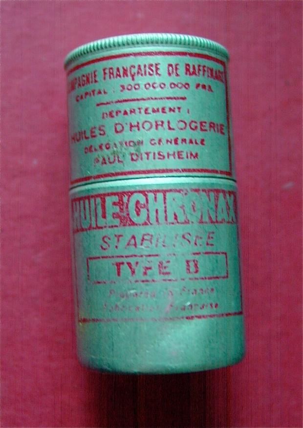 Ditisheim Watch Oil Tin