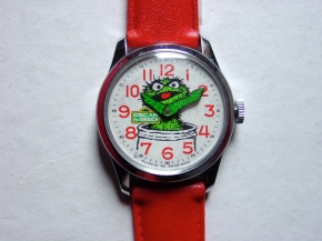 Bradley Oscar the Grouch Watch