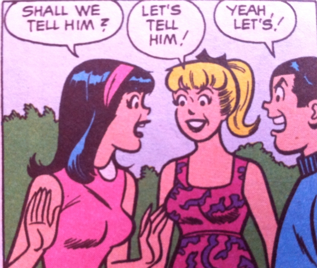 1960s Betty and Veronica panel