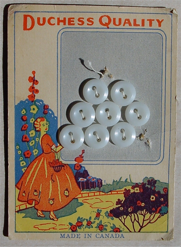 1920s Duchess Quality Button Card