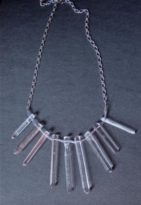 House of Bauble Quartz Necklace