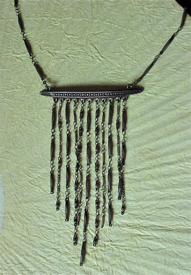 Karen Palmer for Chameleon Fringe Necklace
