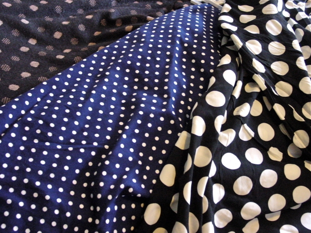 polka dot print clothes