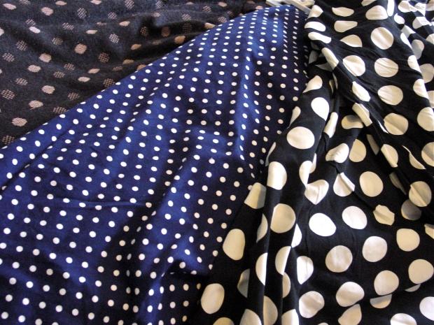 polka dot print clothes