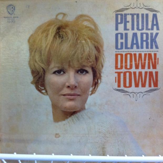 Petula Clark Downtown album