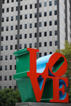Robert Indiana Love Sculpture, Philadelphia