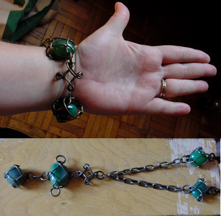 Stephen Stanish Aventurine Bracelet and necklace