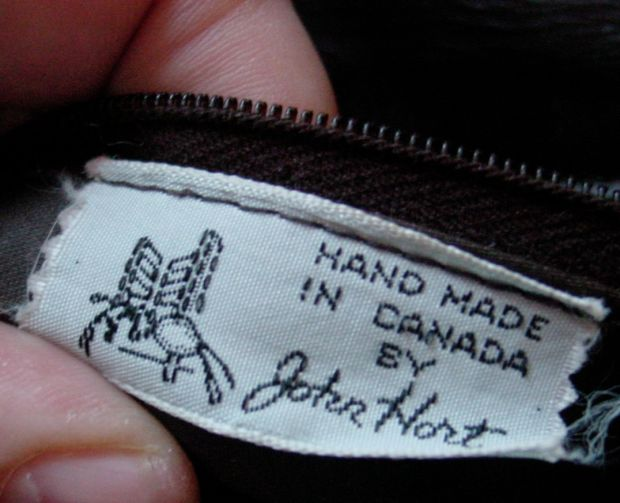 hand made in Canada by John HArt